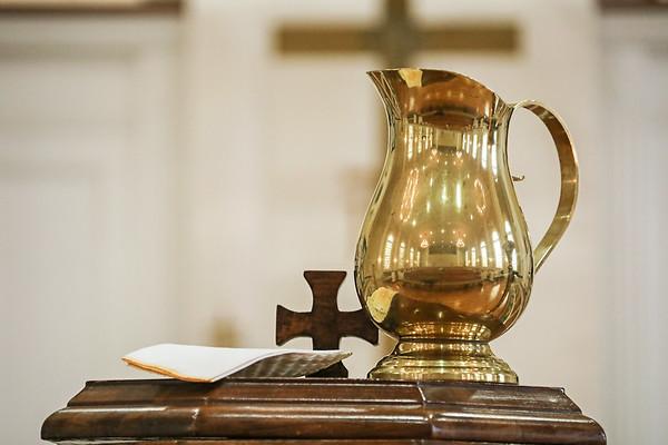FUMC Baptism of William Theo Goldfinch 6-30-19