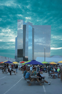 Mohegan Sun Party on the rooftop 2016