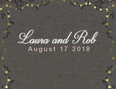 Laura & Rob 2018