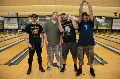 Punk Rock Bowling 2011 2nd Place Team Photo - Sam's Town - Las Vegas, NV