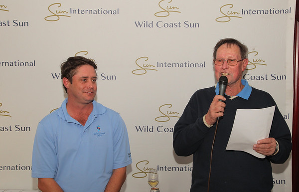 Pro-Am Prize giving round 1