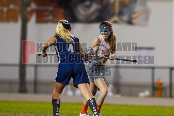 Lake Nona Lions @ Boone Braves Girls JV Lacrosse  - 2015