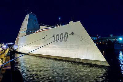 USS Zumwalt DDG 1000 Commissioning Ceremony