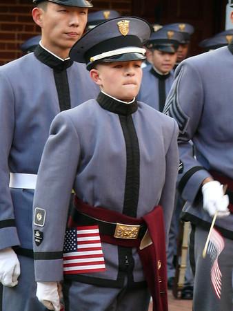 Veterans Day at Fishburne Military School