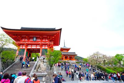 Kyoto and Osaka, Japan