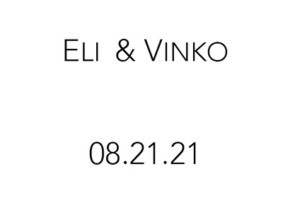 Wedding of Eli and Vinko Aug 21, 2021 (Prints)