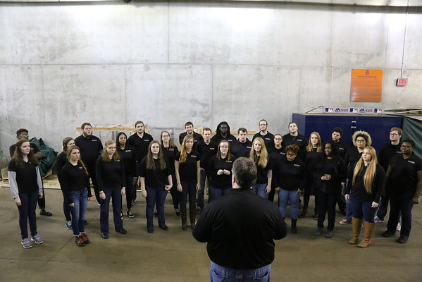 A Cappella Chorus National Anthem at Comerica Park