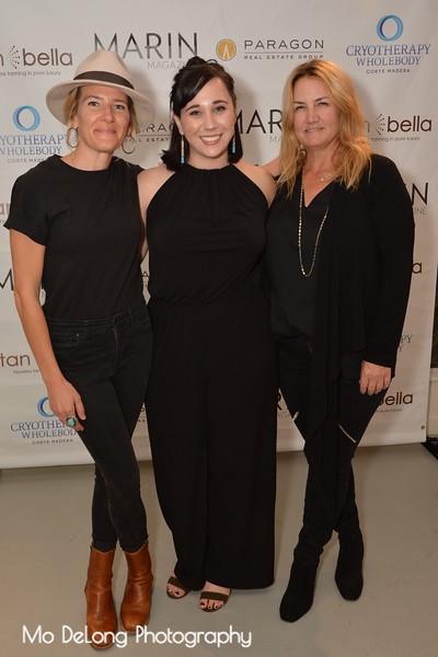 Claire Neunerm, Joanna Mueller and Kirstie Martinelli