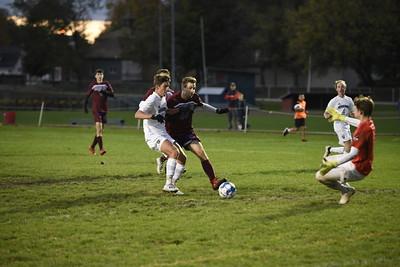 Spaulding vs Vergennes boys soccer