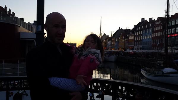 June 3, Train to Copenhagen