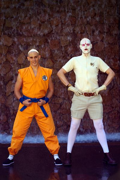 Kung Fu Monk & friend Shaun Beehag and Jason McBurney