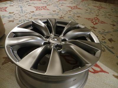 Hyper silver wheel