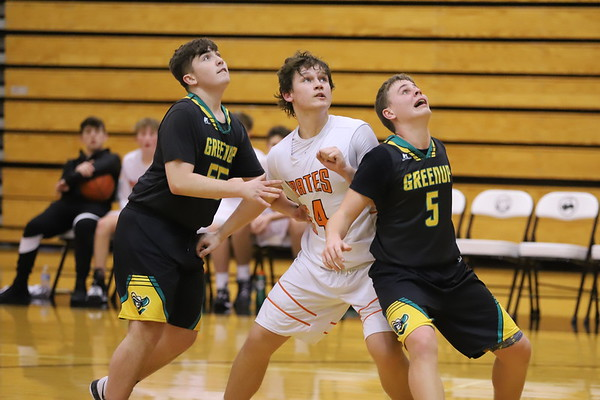 11Fr Freshmen Basketball:  Greenup at Wheelersburg 2020