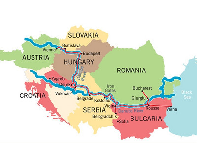 Overview Danube River Cruise