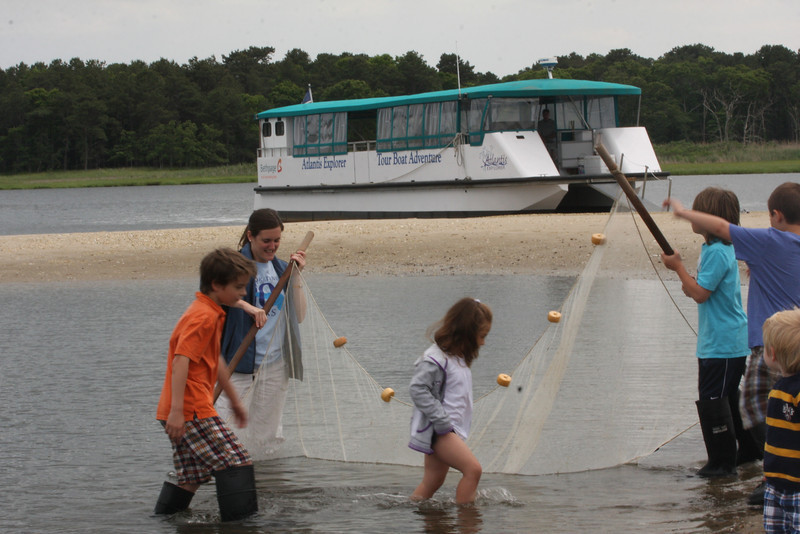 Atlantis Marine World, Riverhead, NY -- the day we took the Tour Boat on the Peconic River.