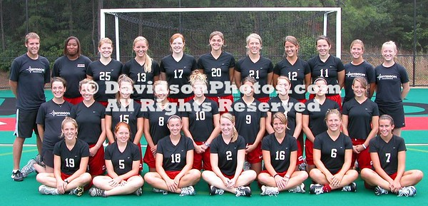 Field Hockey 2007/09 Team Pictures