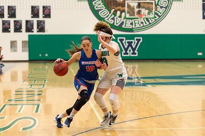 Girls Basketball: Woodgrove 47, Riverside 29 by Jeff Vennitti on February 27, 2020