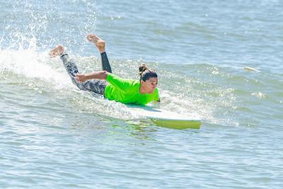 Sam surfing Moku Classic 2019