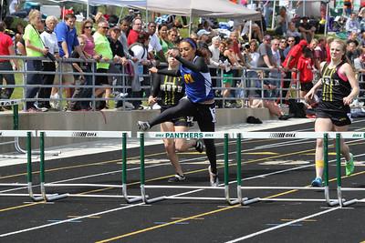 Girl's 300 Meter Hurdles - 2012 MHSAA LP D3 T&F