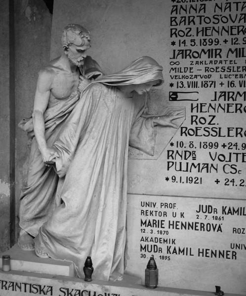 Prague: Funerary Monument, Vysehrad Cemetery