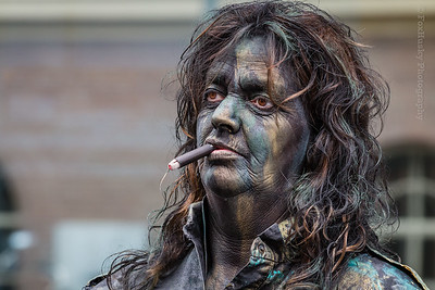 Living Statues Boreel 2016