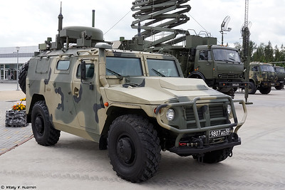 Military-technical forum ARMY-2020 - Static displays part 3: Signal, Air defence, Engineer, CBRN, Support and UAVs