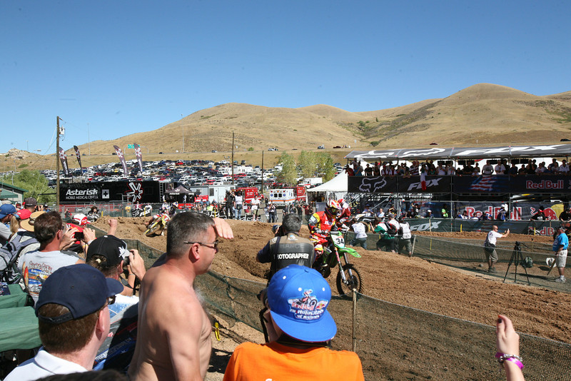 Barragan from Spain leading Dungey