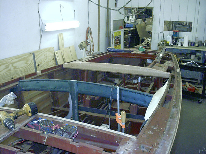 New rear frame installed.