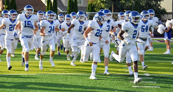 HS Sports - Grand Rapids Catholic Central @ River Rouge Football