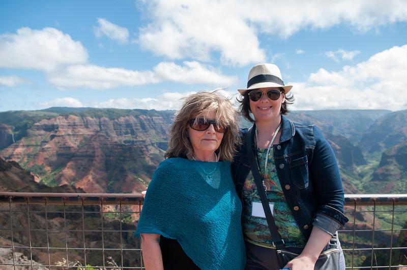 Faye and Kristi at Waimea Canyon.jpg