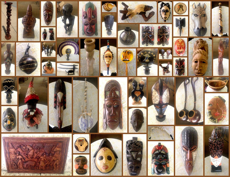 Amazing Authentic African Art & Collectibles.