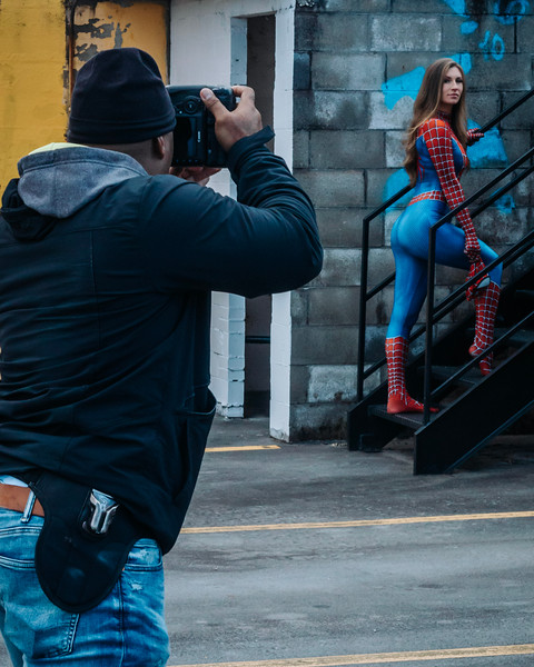 the making of spider girl