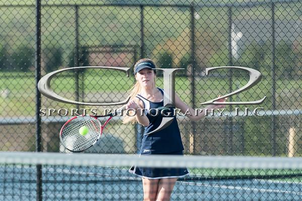 4-20-2015 Millbrook at Woodgrove Girls Tennis