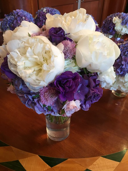 White and Purple Schermerhorn Reception