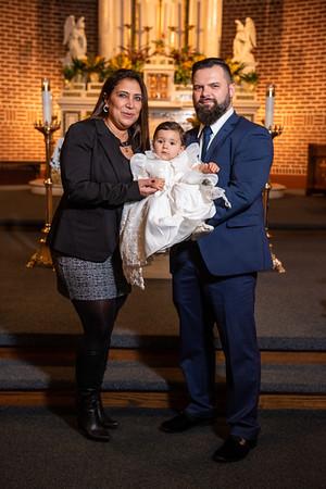 Baby Mila Valentina Baptism