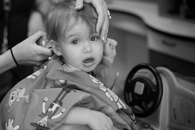 Sammy's First Haircut