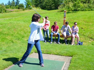 Golf, Rabbits & Raccoons at the Edgefield - 2014/06/19