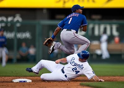 Rangers at Royals : 7/24/2009