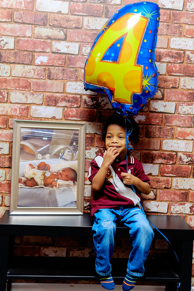 Kellon 4th Birthday