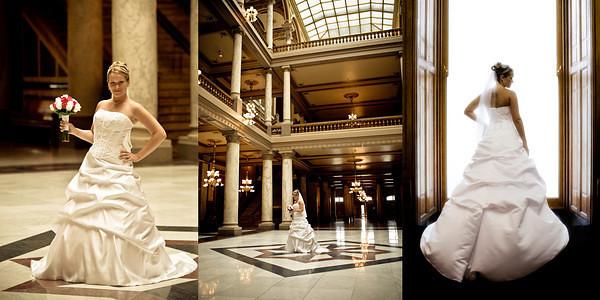 Wedding Challenge • 10/2010 • Full length bridal portraits