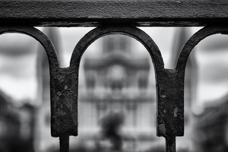 Wrought-iron fences, New Orleans, LA