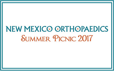 NM Orthopaedics Summer Picnic