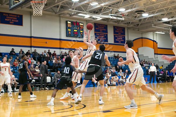 Wheaton College Men's Basketball vs North Park University, January 19, 2019