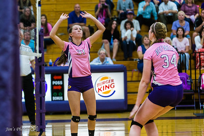 HS Sports - DeForest Volleyball - Sept 17, 2015
