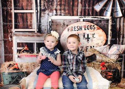 Chelsie Bush Kids Easter 2017