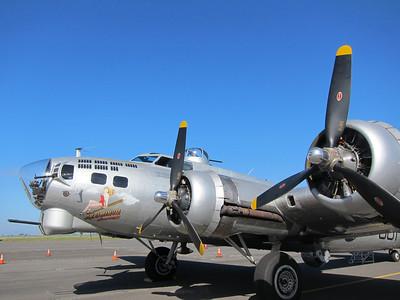 B-17 Flight in Aluminum Overcast