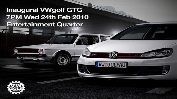 Inaugural VWgolf GTG