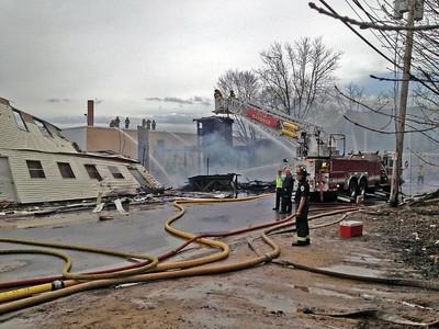 6 Alarm Structure Fire - Unknown Address, Gardner, MA - 5/5/15