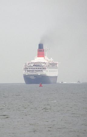 Ships sailing from Southampton 7/08 CUNARD + P&O