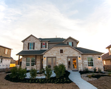 Real Estate Photography - Castle Rock Model Home - Liberty Hill - Texas